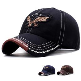 983b544df18 2018 New Eagle Baseball Caps Embroidery Hip Hop Bone Snapback Hats for Men  Women Adjustable Hat B-1091 eagle cap outlet