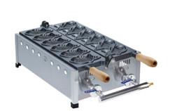 Spedizione gratuita ~ Gas tipo 6 pezzi di pesce macchina per waffle macchina Taiyaki da scaldasalviette da cucina fornitori