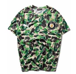 camisa multi camo Rebajas Los hombres más nuevos de la marca Tide Camo manga corta camisetas hombres mujeres cuello redondo camiseta Tops envío gratis