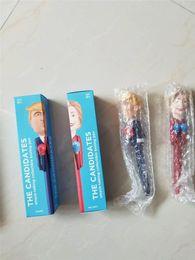 2019 La Candidata Trump Decompressione Pugilato Nuovo Design Presidente Penne America Grande USA Giocattoli Intelligenti Penna Fancy Gift Regali di compleanno da chiodi 21 fornitori