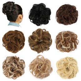 Deutschland Chignon Haarknoten Haarteil Lockiges Haar Scrunchie Extensions Blond Braun Schwarz Hitzebeständige Synthetik Für Frauen Haarteile Versorgung