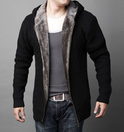 80ee076a60de6 2019 suéter de rebeca de lana para hombre LEDINGSEN 2018 Mens otoño cálido  lana de lana