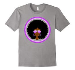 Wholesale Quick Shade - Black Girl Magic Shades of Purple Melanin Rocks T-shirt