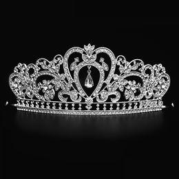 Canada Bling Perles Cristaux De Mariage Couronnes 2018 De Mariée Diamant Bijoux Strass Bandeau Cheveux Couronne Accessoires Partie Tiara Pas Cher Livraison Gratuite Offre