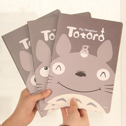 Wholesale Totoro Paper - Wholesale- 1pc Korea Stationery Creative Cartoon Totoro Student Notebook Cute Notebook