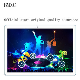 tablet 16gb 32gb Sconti BMXC Official originale 10.1 pollici Android 7.0 Quad Core tablet pc 3G 4G LTE Dual SIM chiamata 16GB / 32GB ROM WIFI bluetooth GPS