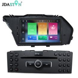 2019 mercedes radio navigation JDASTON Octa Cores Android 8.0 Reproductor de DVD de coche para MERCEDES GLK 2008 2009 2010 4G + 32G WIFI Radio Navegación GPS Multimedia mercedes radio navigation baratos