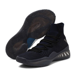Wholesale mens christmas socks - Crazy Explosive shoes 2018 Andrew Wiggins Basketball Shoes for High quality Mens Socks Sports Training Sneakers epacket XZ235