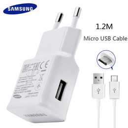 Samsung S6 S7 Edge Note 4 5 Fast Charger Travel Adapter EU Galaxy S 6 S 7 9V1.67A 1.5m USB Cable Adaptive Charging Original nereden