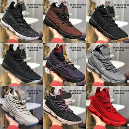 Wholesale silk fabric roses - Cheap Ashes Ghost Oreo James 15 Men Basketball Shoes 15s BHM Black Gum Cavs City Edition Rose Gold Multi Sports Trainers Shoes Sneakers