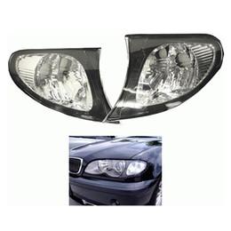 2019 bmw e46 325i Luzes de Canto do carro Laterais de Habitação Lens Clear LeftRight Para BMW Série 3 E46 325i 325xi 330i 330xi bmw e46 325i barato