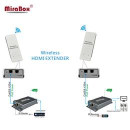2019 ir приемники 5.8 GHZ беспроводной HDMI удлинитель с ИК-пультом дистанционного управления поддержка 3 км открытый передачи 1080P беспроводной HDMI передатчик и приемник скидка ir приемники