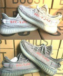 Wholesale basketball 48 - 2016 V2 Sply 350 boost Black Red Copper White Kanye West Boost 350 running shoes V2 Sply 350 Men Women Basketball Shoes 36-48
