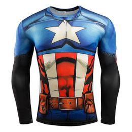2d82631703caa7 new superman t shirts 2019 - New 2018 Brand Clothing Fitness Compression  Shirt Men Superman Bodybuilding