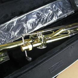 trombón Rebajas Trombón gran metal con técnica de sonido laca Bb / F.
