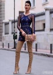 2018 Женщины бедра высокие гладиаторские сапоги над колено высокие пинетки тонкий каблук черный цвет длинные сапоги квартиры peep toe платье обувь от