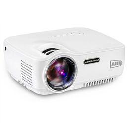 Proyectores de alta luminosidad online-Kit de proyector LED de alta calidad AUN AM01S Projector 1400 lúmenes en Android 4.4 WI-FI Bluetooth