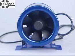 "Wholesale Fan Flow - SXDOOL 6"" 6inch 150mm room Ventilation Inline duct Mixed Flow Fan 510CMH 300CFM 110-120VAC 220-240VAC 4200RPM Speed control"