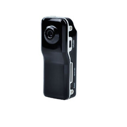 Black Portable Smallest HD Mini MD80 Camera Wireless IP DVR Video Recorder Camcorders Without Wifi