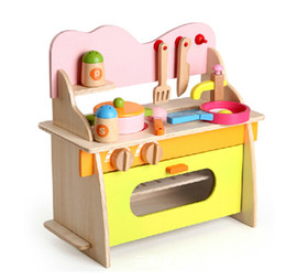 Wholesale gif sets - Artificial Mini children kitchen set baby kitchen toys male girl Child Multifunction Educational Toys Birthday Gif