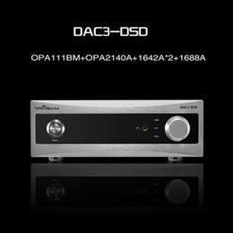 décodeur optique Promotion 2017 Nouveau Trasam DAC3 HiFi Décodeur Audio Numérique Entrée USB / Coaxial / Optique Sans JoueurHeadphone Decoder
