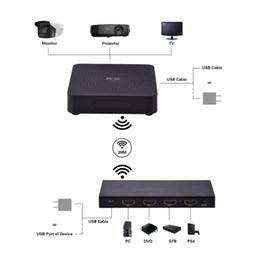 Transmissores de áudio e vídeo sem fio on-line-MEASY W2H MAX Caixa de Transmissão de Áudio e Vídeo Sem Fio 1080 P 3D HDMI WIHD Transmissor e Receptor de Transmissão de Áudio e Vídeo Kit