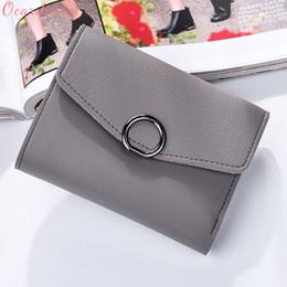 653130607f80 2019 p кошелек Ocardian новый bolsas новая мода женщины кожаный бумажник сцепления  кошелек Леди короткие сумки