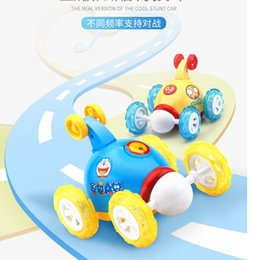 Wholesale Animal Stunts - Dump truck remote control car children rechargeable tumbling stunt car electric toy car boy remote