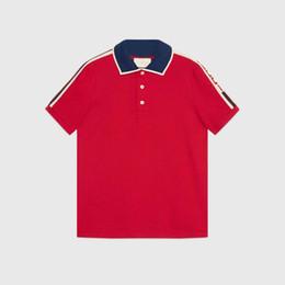 Diseño de la camiseta del polo online-Primavera verano 18 polo camisa de manga corta polo camisetas hombres tee diseño impresión poloshirt ropa polos tops 3XL