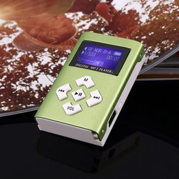 a857da57a NUEVO Gran promoción Espejo reproductor de MP3 portátil Mini Clip  Reproductor de MP3 a prueba de agua deporte música walkman