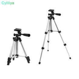 2019 handy ohne kamera DHL Erweiterbar Tragbare Stativ Stehen Verstellbare Kamera Mini Projektor 35 cm-105 cm (Farbe: Schwarz)