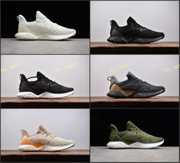 Wholesale Rubber Bounce Shoes - 2018 Alphabounce EM Boost 330 Running Shoes Mens trainers Highest Quality Alpha bounce Sports Trainer Sneakers Man Shoes Eur Size 40-45