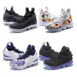 James 15 White Rain Ashes Ghost 15 CAVS Men Basketball Shoes 15s Equality  Mens XV Casual Trainer Male Sports Sneakers 40-46 b8eba90409e