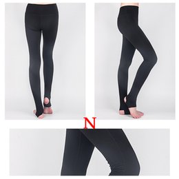 Wholesale Women Mesh Pants - DHL High stretch Yoga pants Leggings for women Mesh splicing design running fitness gym sports Exercise wear Yoga Outfits
