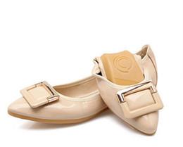 2019 sapatos baixos para grávidas Macio e confortável mulheres apartamentos 2018 primavera nova moda Apontado sapatos baixos senhora rasa boca sapatos de balé mulheres grávidas sapatos tamanho grande 41-45 desconto sapatos baixos para grávidas