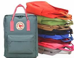Canada couple sac à dos classique mini sacs à dos étudiants en toile unisexe étudiants épaule sacs à main sacs à main cartable fille garçon 27 couleurs ePacket gratuit Offre