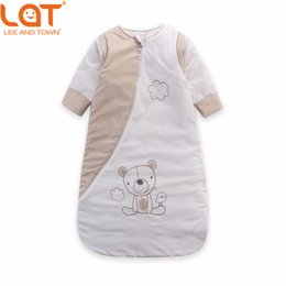 Wholesale Bag Thickness - LAT Baby Toddler 80cm Length Winter Warm Sleeping Bag SleepSack Swaddle Thickness Wrap Bedding Set 2.5 Tog for 0-3 Years Unisex