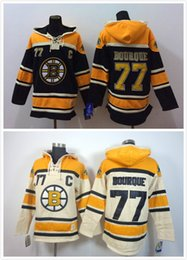Wholesale Rays Hoodie - Factory Outlet, Cheap Stitched Bruins ice hockey hoodie #77 Ray Bourque Jersey Hockey Hoodies Sweatshirts