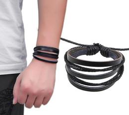 2019 muster charme armbänder steel_love_you kostenlose Proben für Sie, wenn Sie einige bestimmte Lederarmbänder zusammen kaufen, 3pcs ist eine Packung günstig muster charme armbänder