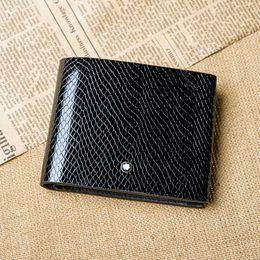 Wholesale Drop Ship Wallet - Drop shipping ,coffee men's purse & Man luxurious Best Sell- Genuine Leather Wallet +100% Genuine Leather Snake Pattern