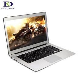 2gb ram 8gb bluetooth hdmi Sconti Tastiera retroilluminata da 13,3 pollici Core i3 Tastiera retroilluminata per computer portatile 8G DDR3 128G SSD Schermo 1920 * 1080 HD Windows 7 Win 10 Slim laptop