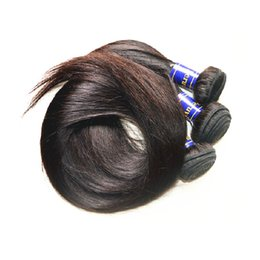 Wholesale Hair Silk Products - beautysister hair products 8a peruvian virgin hair silk straight style 3bundles 300g lot unprocessed human hair extensions weavs