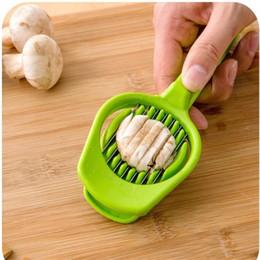 funghi utilizza Sconti Tide Mushroom Tomato Egg Slicer Utensile da cucina multifunzione in plastica Manuale Facile da usare Cutter per uova Small Light 5bk cc