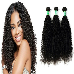 Wholesale Human Hair Extensions Packaging - Peruvian Human Hair Extensions 10-28 Inch Hair Extensions 8A Grade Silky Long Curly Wave Hair Prices 3 Pcs Package Set