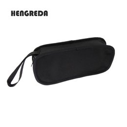 Wholesale laptop carrying - Hengreda Laptop Power Adapter Bag Carrying Case Travel Electronic Cable Storage Management Mesh Bag Cell Phone and Computer case