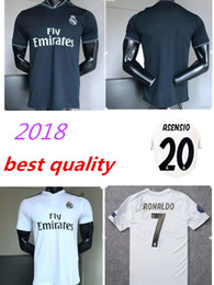 Wholesale wholesale real madrid - 2018 madrid Jersey Benzema Ronaldo ASENSIO football Soccer Modric Kroos Sergio Ramos Bale Marcelo 18 19 Champions League Real Madrid shirts