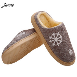 winter home slippers for men Coupons - Hot Sale Winter Men Home Slippers Men Indoor Slippers Winter Male Warm Plush Home Shoes Male Soft Shoes for Bedroom