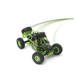 Wholesale dirt bike lights - High Quality Dirt bike 2.4G 1 12 4WD Crawler RC Car 1:12 Electric four-wheel drive Climbing With LED Light RTR remote control