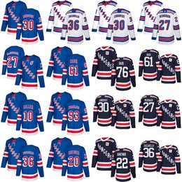 Wholesale Green Miller - 2018 Winter Classic New York Rangers Brady Skjei j.t. miller Ryan McDonagh Mats Zuccarello Henrik Lundqvist Rick Nash Jersey Navy Blue