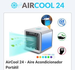 Wholesale portable space - Arctic Air Personal Space Cooler The Quick & Easy Way to Cool Any Space,32 pcs filter paper Fan Portable Air Conditioner Humidifier Purifier